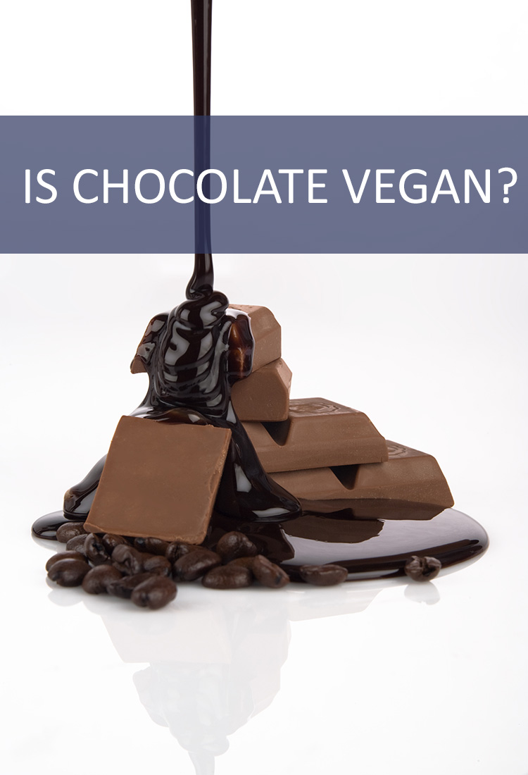 Does switching to a vegan lifestyle mean that you have to give up your chocolate addiction?