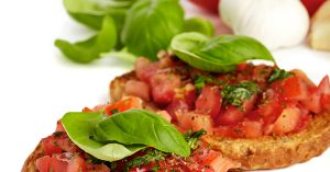 Is Bruschetta the Topping or the Bread?