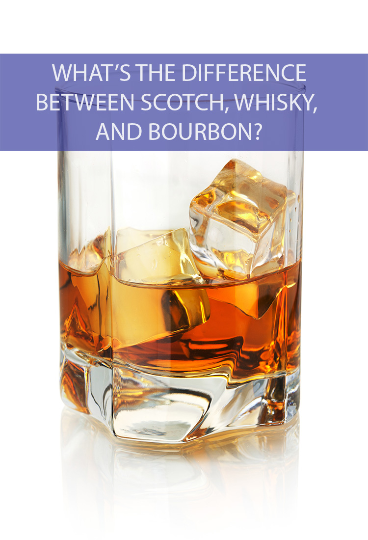 Nothing beats a relaxing glass of whisky at the end of the day. But are you actually sipping on Scotch or Bourbon? How can you tell?