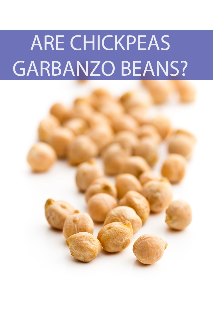 They look the same, they taste the same, but are Chickpeas and Garbanzo Beans the same thing?