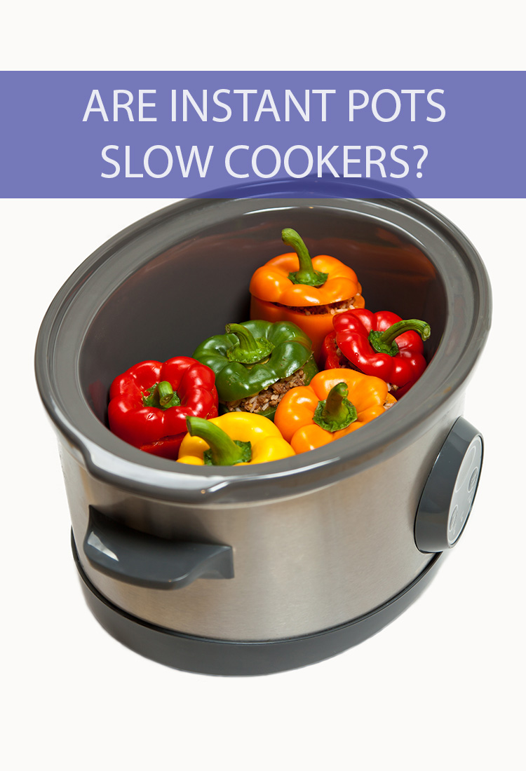 """Instant pots are the new craze for the """"set it and forget it"""" cooking crowd. Is it just a slow cooker with a new name? What's the difference between the two?"""