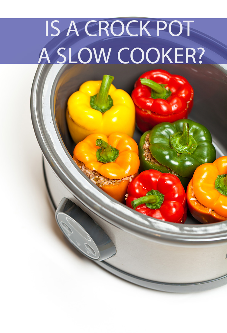"Is ""Crock Pot"" just a fancy term for slow cooker, or is this popular product something else entirely?"