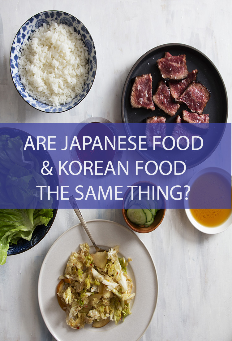 Both of these nations love wrapped and rolled food, so are Japanese and Korean Foods interchangeable? Is there a difference between them?