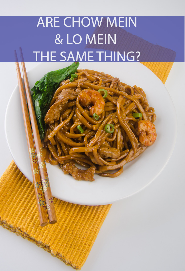 "They both have ""Mein"" in their name, right? So, doesn't that mean they must be the same thing? What are the key differences between chow mein and lo mein?"