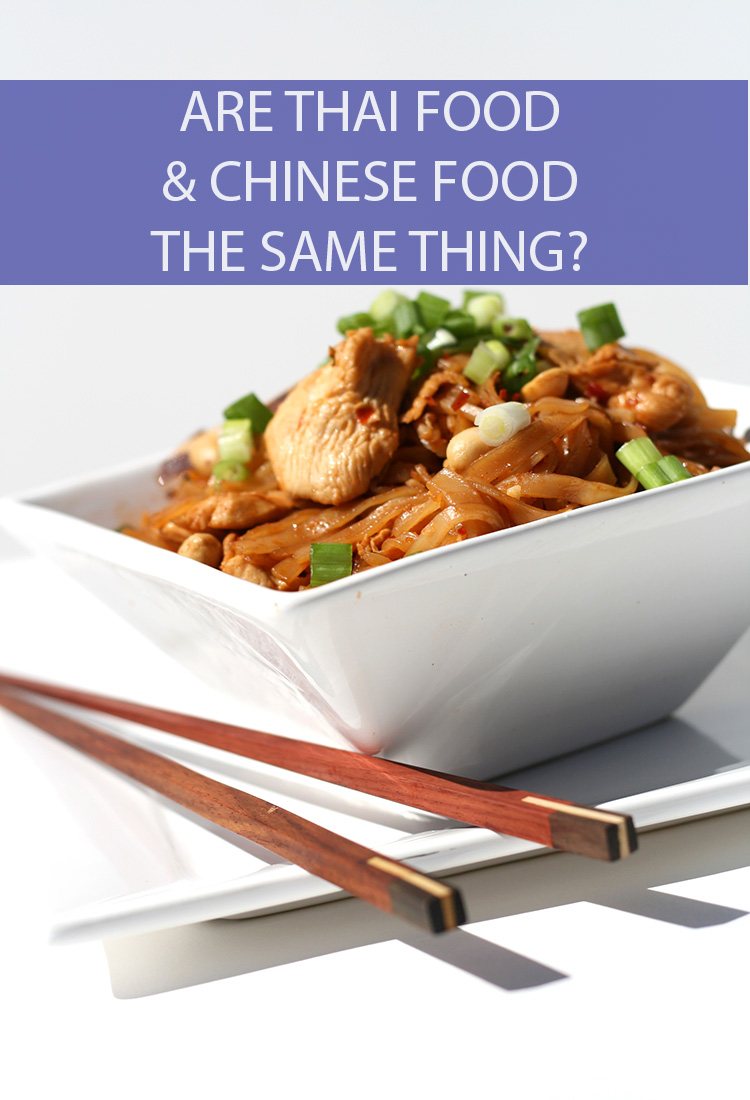 Both Thai food and Chinese food are incredibly popular throughout the U.S., but are they essentially the same thing? What's the major difference between Thai and Chinese foods?
