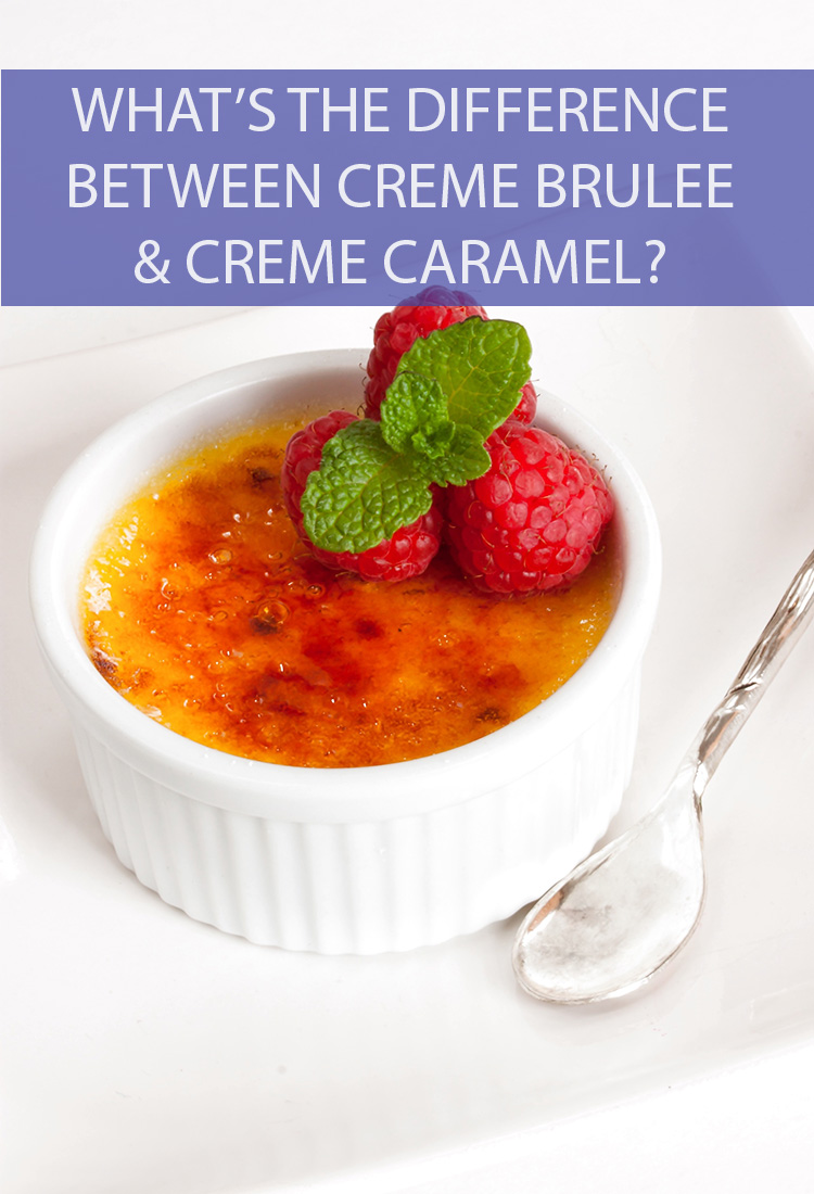 Are all custard-based desserts essentially the same thing? Are crème brûlée and crème caramel just different words for the same creamy dessert?