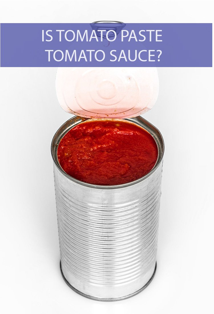 They're both tomato based so is rubbing some tomato paste on your meatballs the same as pouring tomato sauce over it?